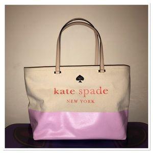 Kate Spade Canvas Tote!